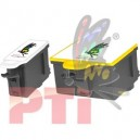 Compatible No. 10 121558/1810829 Multi Pack (Black &Tri-Color)